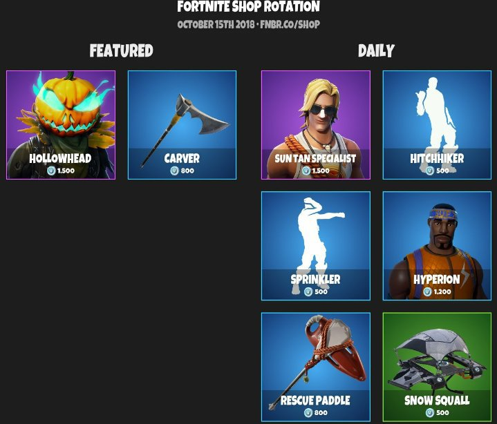 Daily Item Shop 4 Fortnite Battle Royale Armory Amino - daily item shop 4