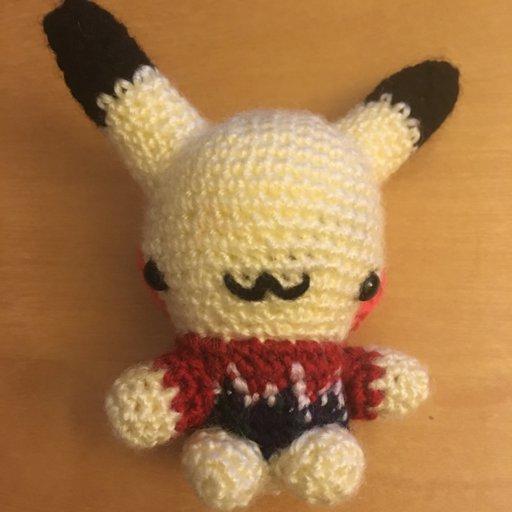"Baby Yoda Inspired 7.5"" Amigurumi Crocheted. Doll Bead Eyes w ... | 512x512"