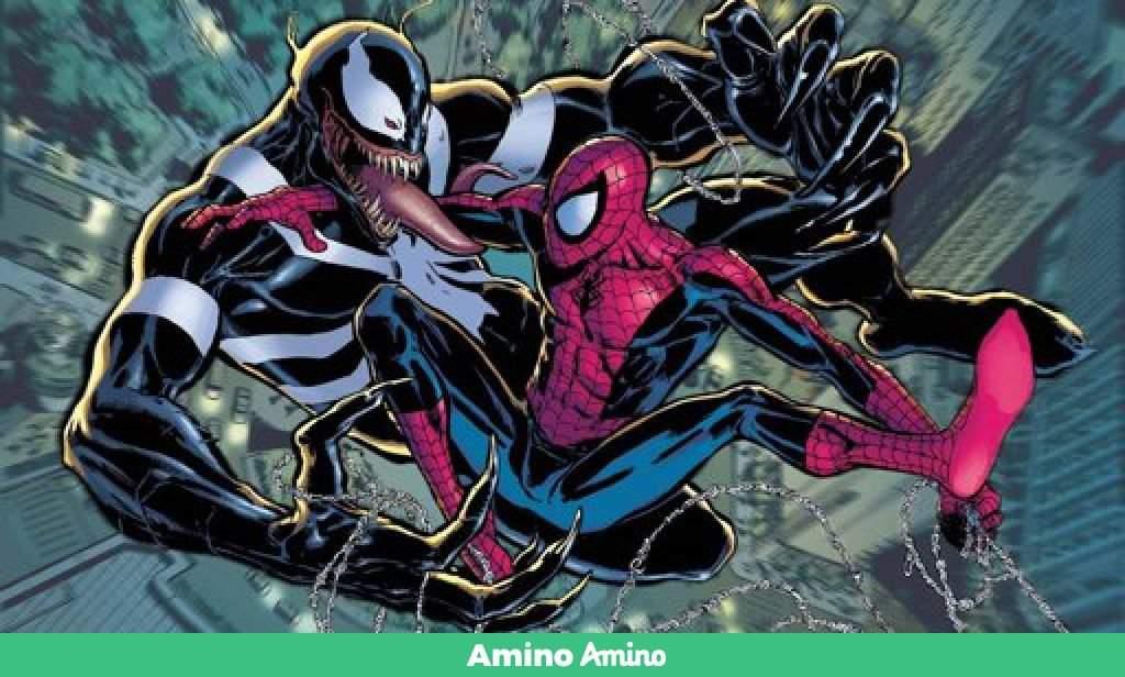 Spiderman Vs Venom Cartoon Amino