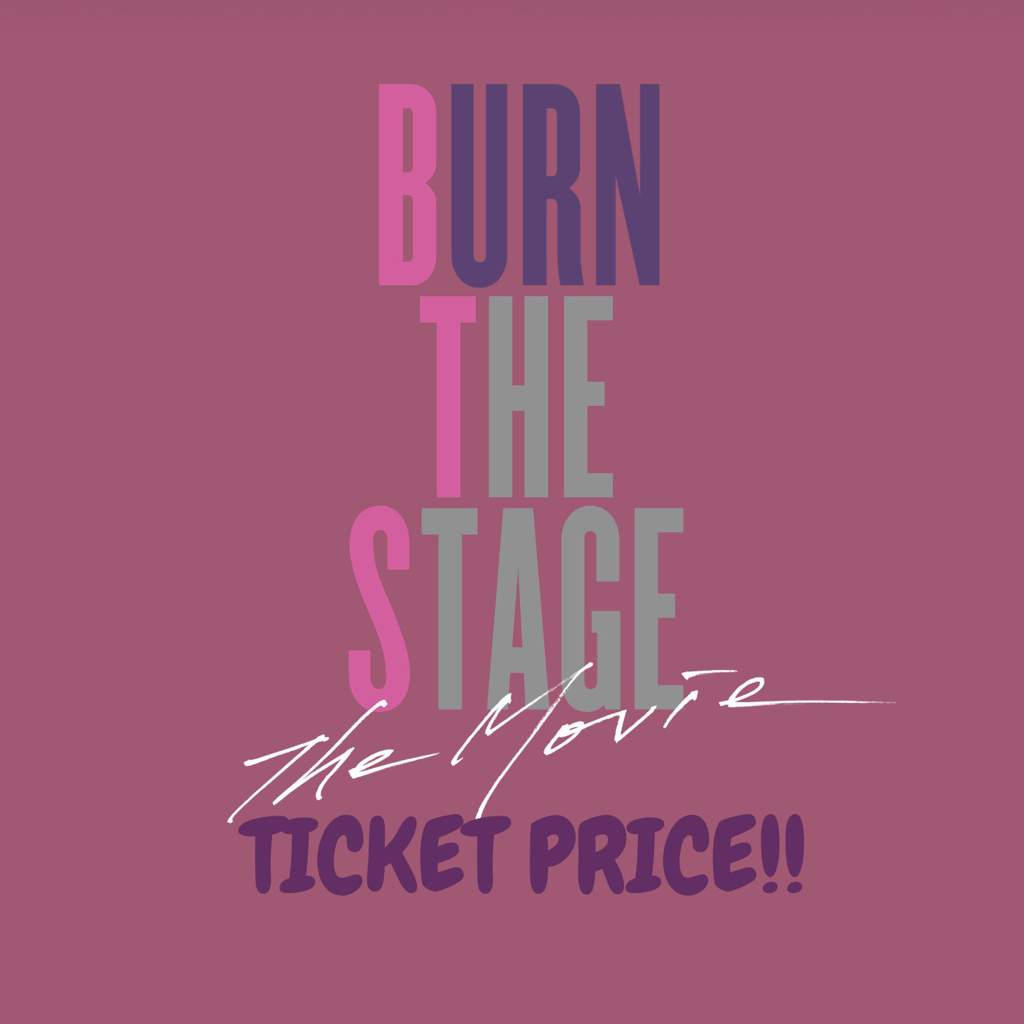 Updated Bts The Movie Ticket Price Bts Army Indonesia Amino Amino
