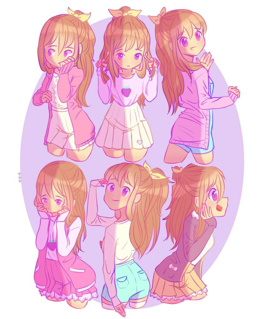 Some outfit ideas for my OC  Arts And OCs Amino