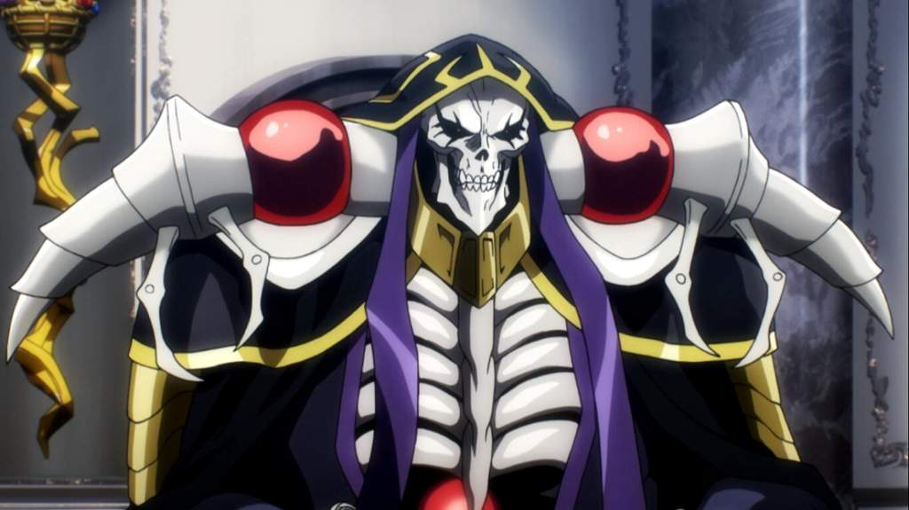 Ainz Ooal Gown Overlord Amino