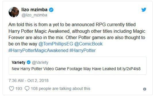 ʟᴇᴀᴋᴇᴅ | Upcoming Harry Potter Open-World RPG Gone Viral