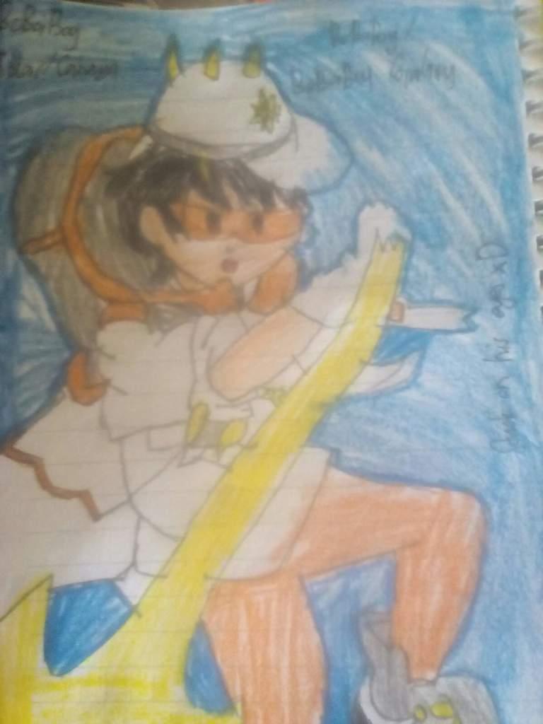 My Drawing Again Boboiboy Amino