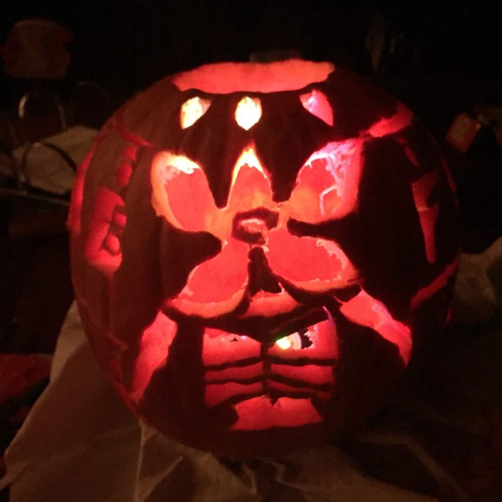 Demogorgon Pumpkin Stranger Things Amino