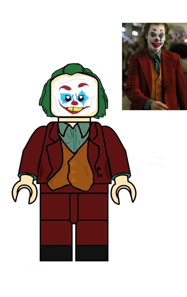 Custom Lego Joaquin Phoenix Joker Design Lego Amino