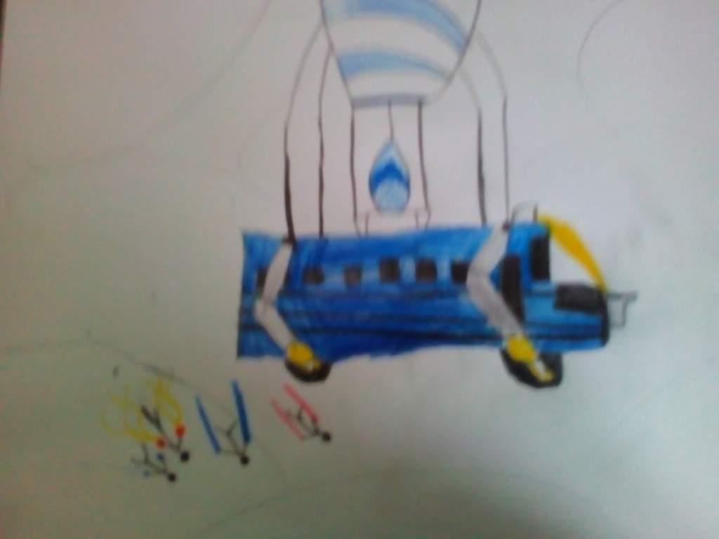Battle Bus Art Fortnite Battle Royale Armory Amino