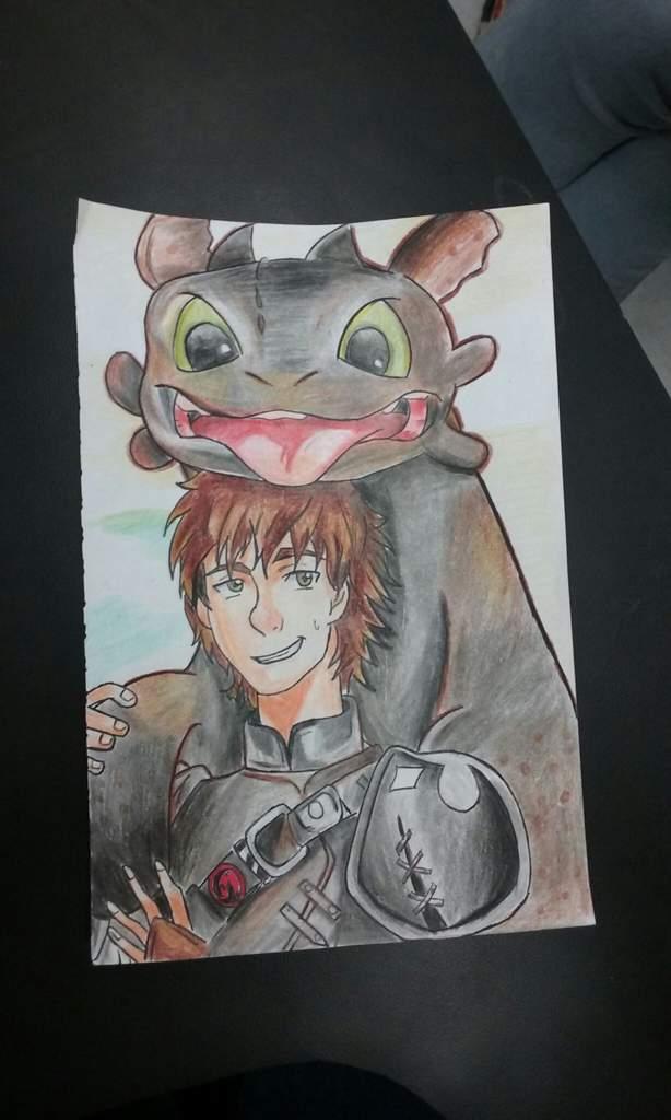 Hipo Y Chimuelo Como Entrenar A Tu Dragon Dibujarte Amino