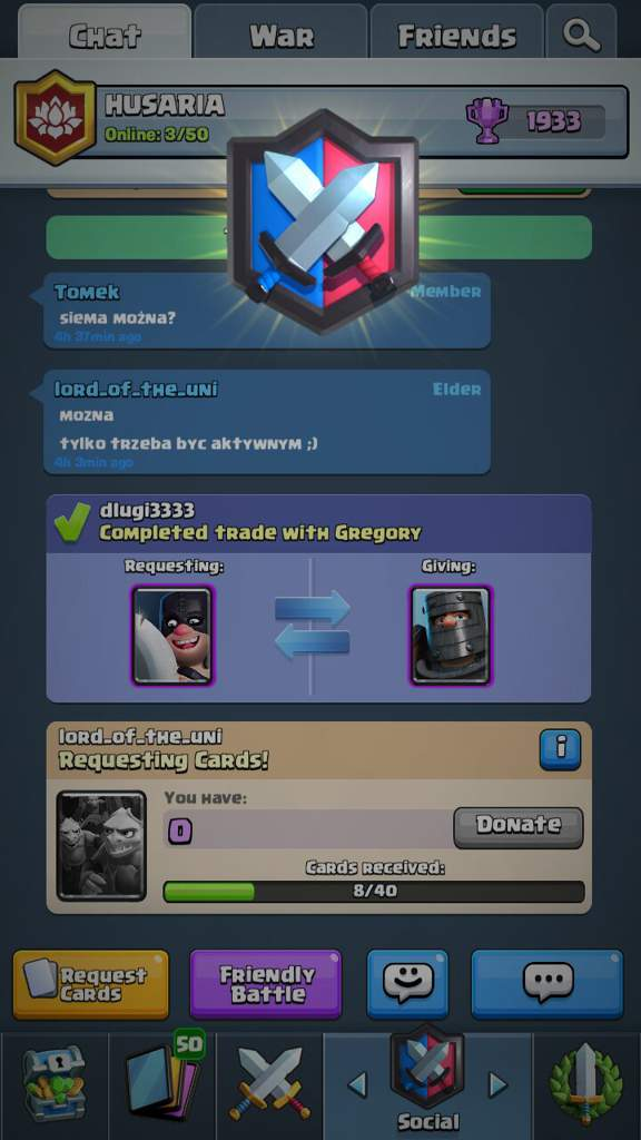 how to restart in clash royale