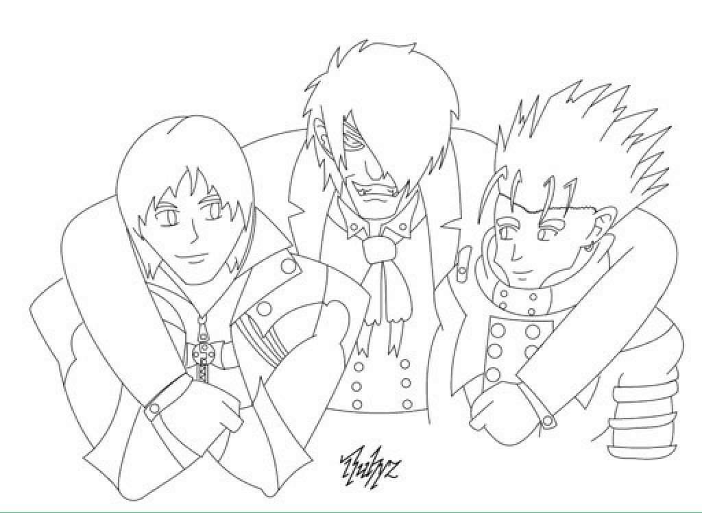 devil may cry coloring pages - photo#40