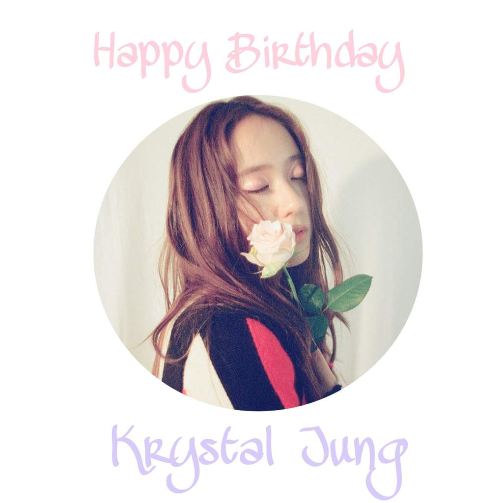 Happy Krystal Day K Pop Amino