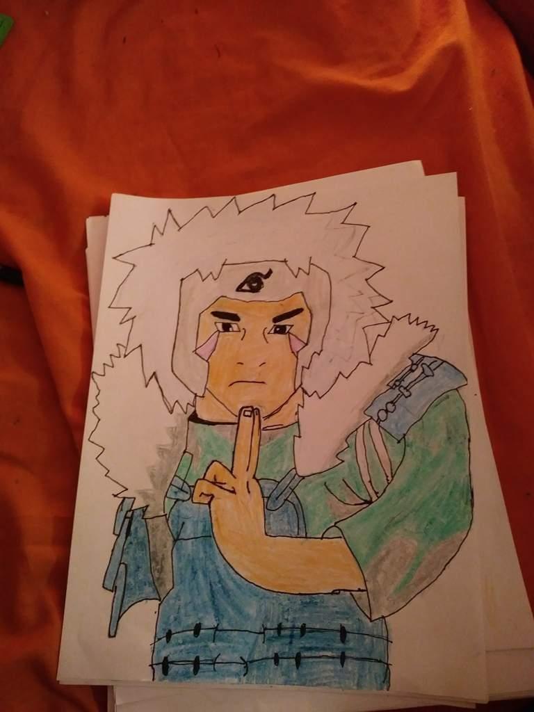 Tobirama 2 Hokage Naruto Fanart