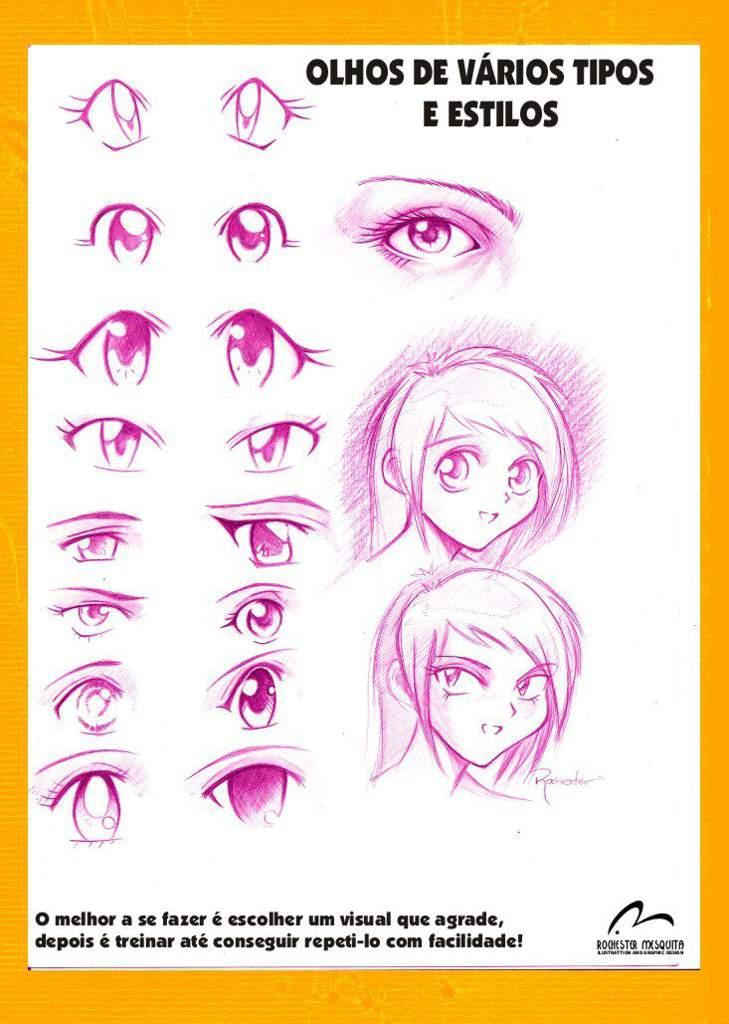 Como Desenhar Olhos De Anime Ibispaint X Amino Pt Br Amino