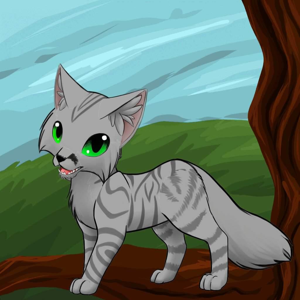 Коты воители картинки мультфильм