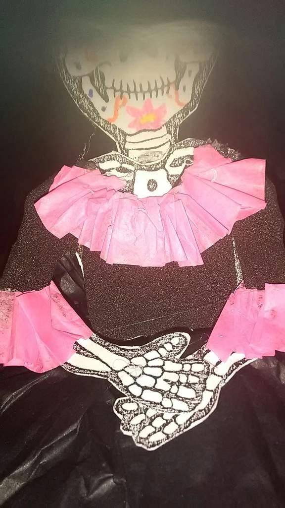 Calavera De Papel Vestida Manualidades Amino