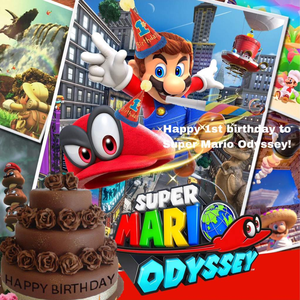 The Odyssey Experience Happy First Anniversary Mario Amino