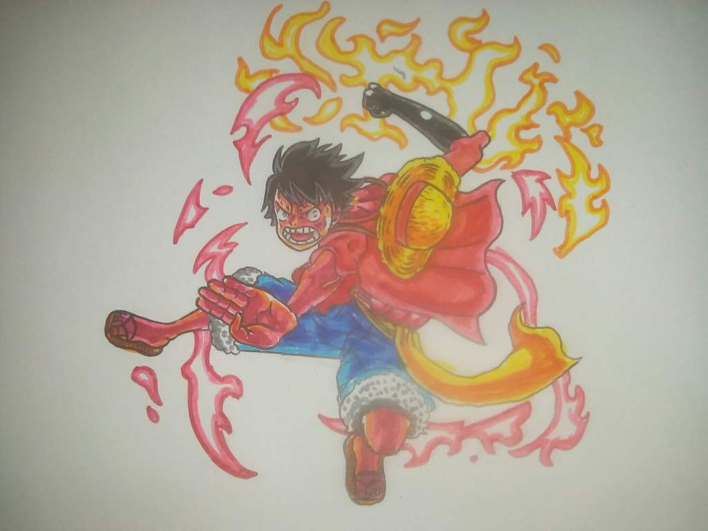 Drawing Monkey D Luffy One Piece Amino