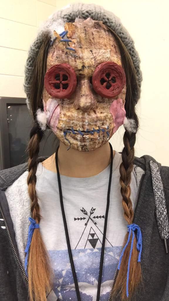 Voodoo Doll SFX Makeup