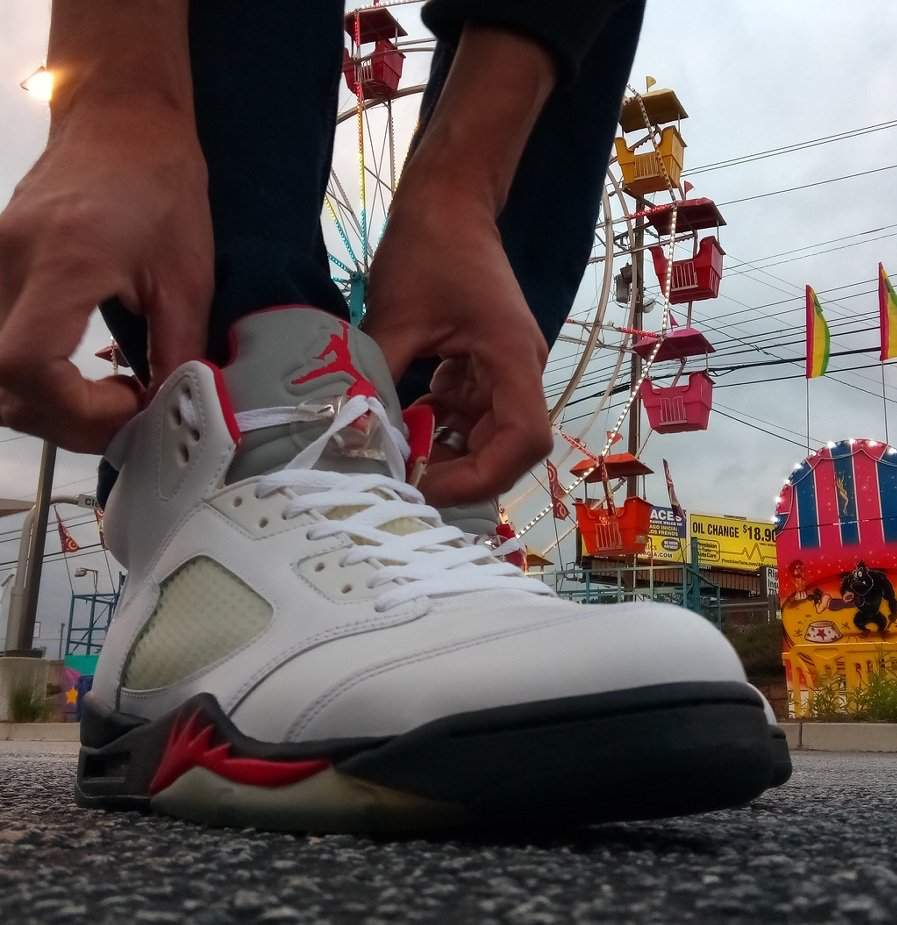 hot sale online e52aa cc3bb KOTD: Fire Red 5s | Sneakerheads Amino