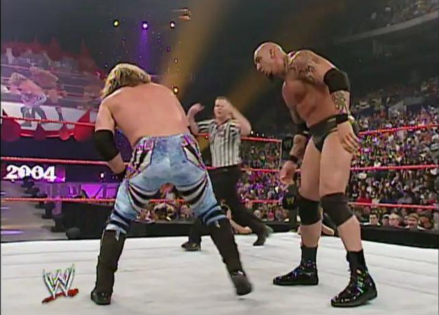 Image result for WWE Bad Blood 2004 jericho vs tomko
