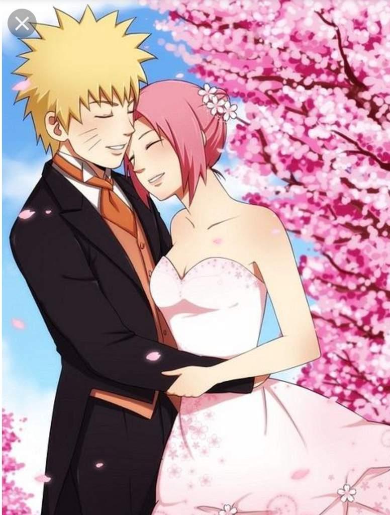 Наруто и сакура картинки любви