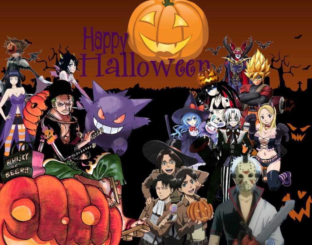 Anime Characters Representing Halloween Monsters Anime Amino