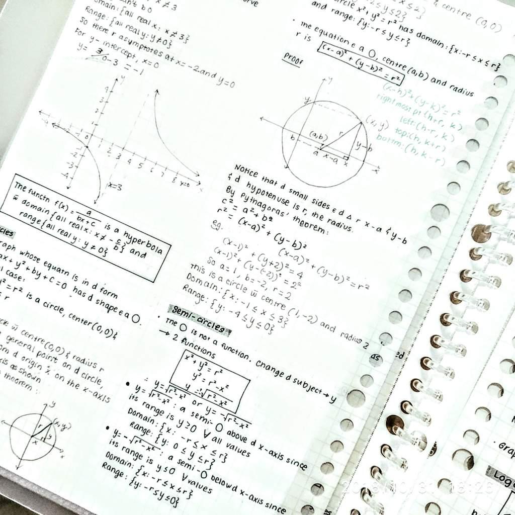More maths notes 🤩🤩 | Studying Amino Amino