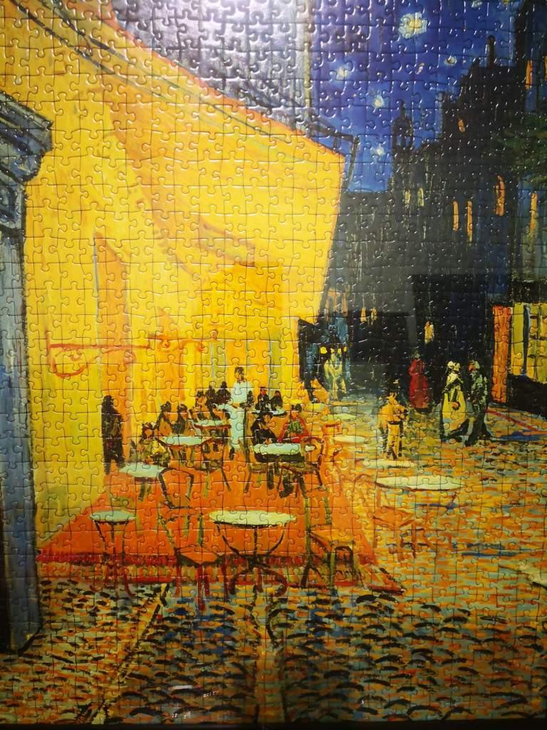 Terraza Café Por La Noche By Vincent Van Gogh Historia Del