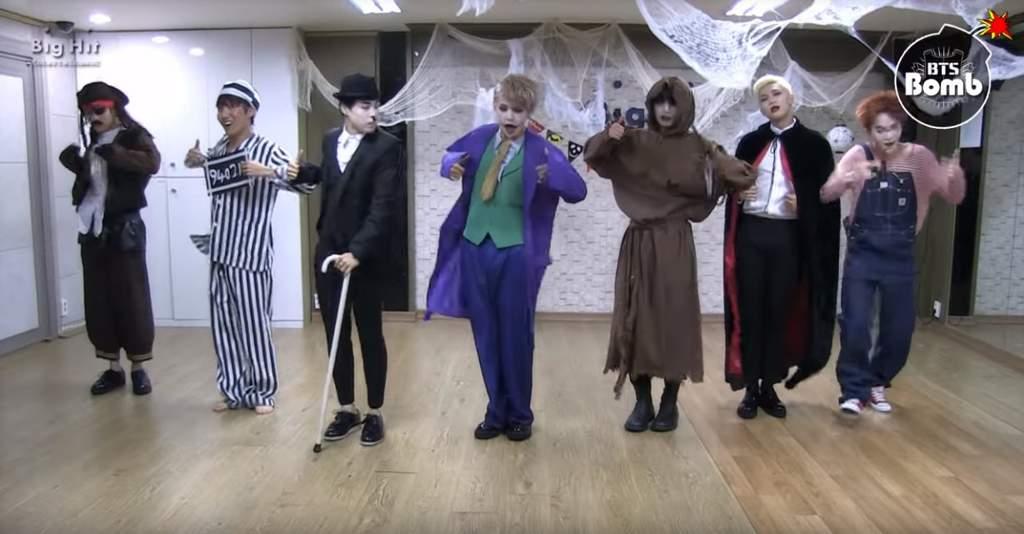 Halloween with BTS 👻👻 | ARMY Aesthetics ♛ Amino