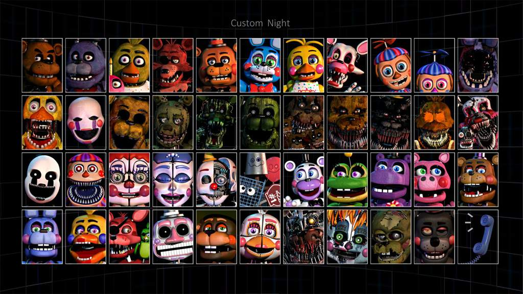 William Afton's Internal Hell~💀(ultimate custom night theory
