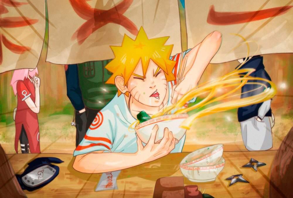 e48130f4aff8 The World Will Wait Uzumaki Naruto Eats Ramen Naruto Amino
