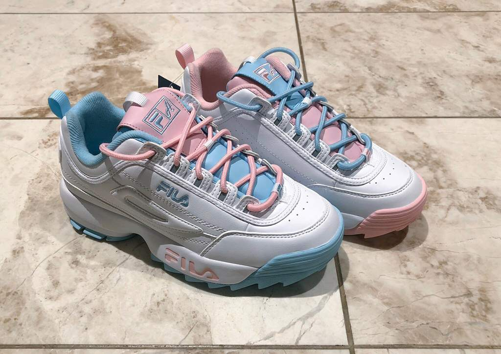 ATIPICI X FILA Shoe Unboxing (AKA carat
