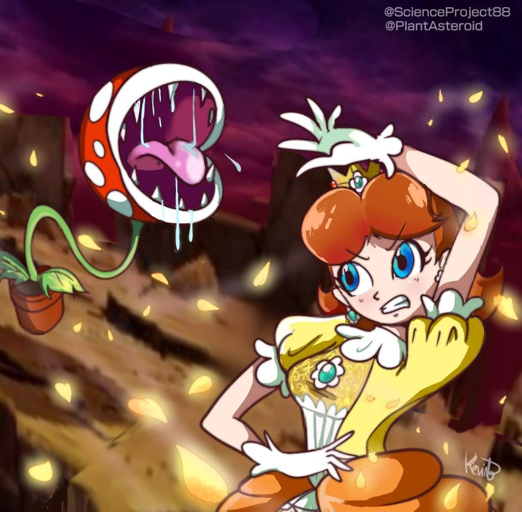 Daisy Final Smash against Piranha Plant (by me) !   Smash ...