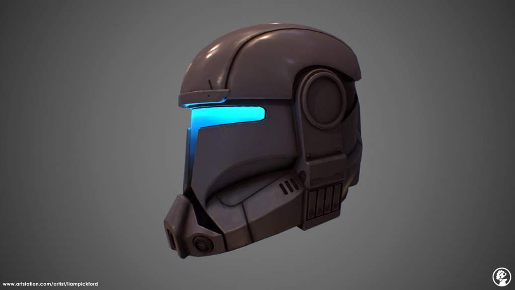 Republic Commando Helmet Looks Like Elite Praetorian Guard Helmet