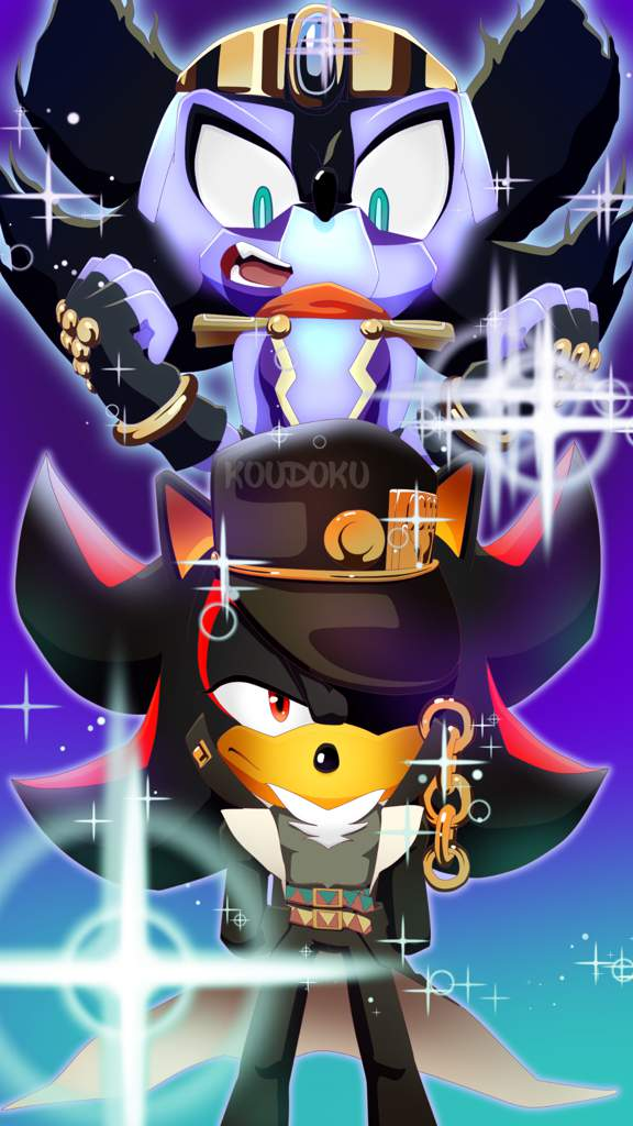 Shadow In Jojo Sonic The Hedgehog Amino