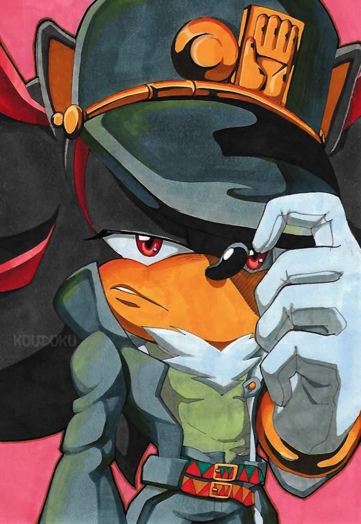 Shadow Sonic Silver And Jojo Sonic The Hedgehog Amino