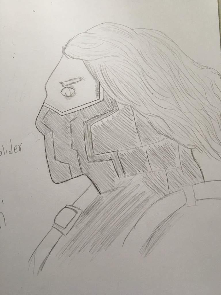 Winter soldier fan art | Marvel Amino