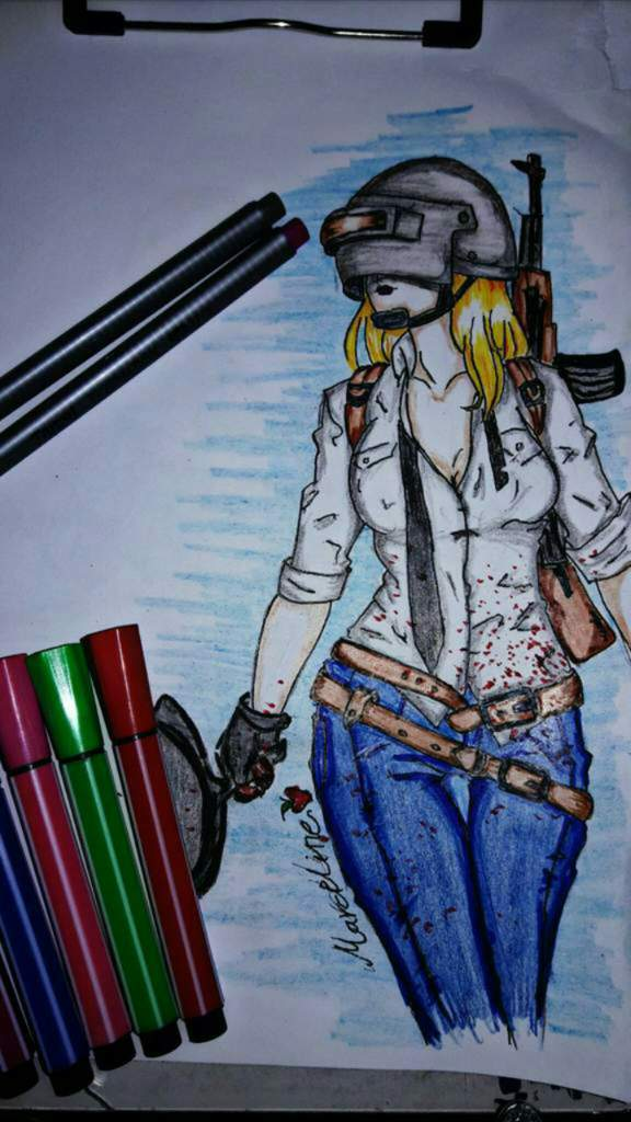 رسم في ببجي