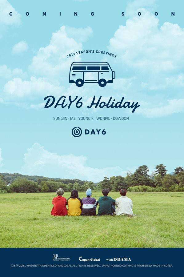 2019 seasons greetings day6 amino