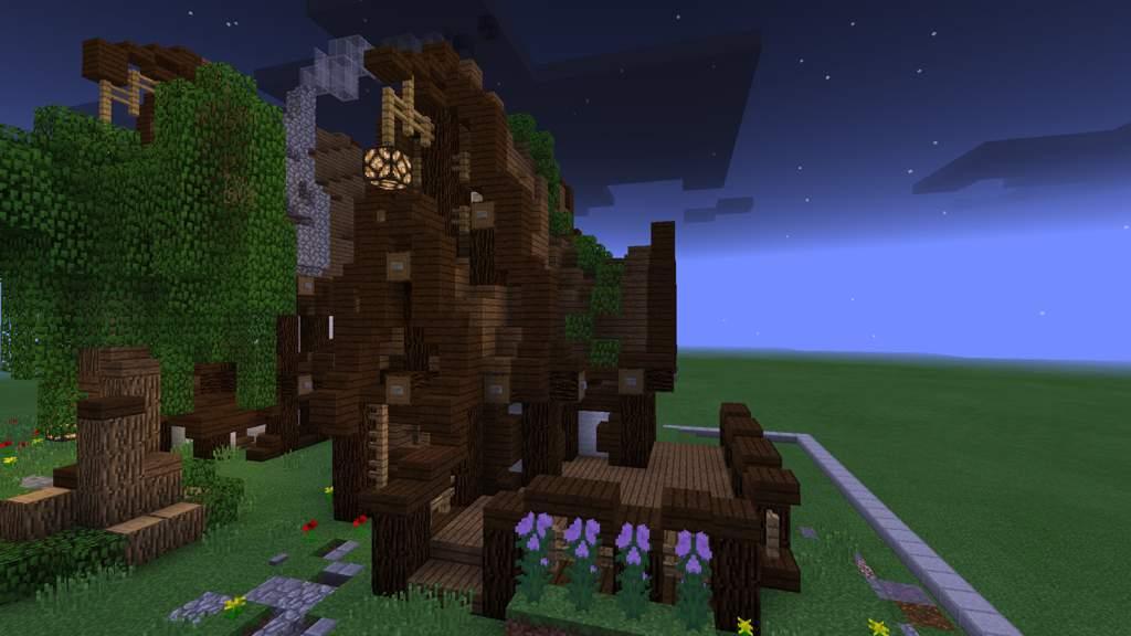 Rustic House build• | Minecraft Amino