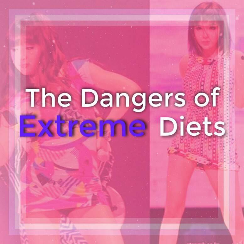 Kpop Extreme Diet