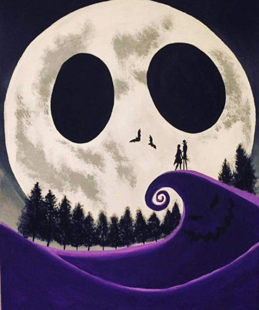 This Is A Nice Background Nightmare Before Christmas Amino