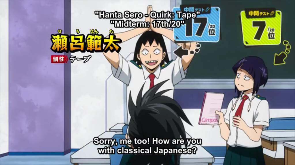 Hanta Sero Appreciation Post My Hero Academia Amino