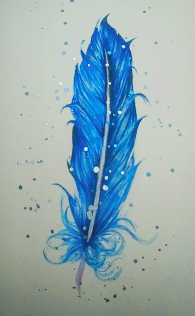 Image result for feather painting""