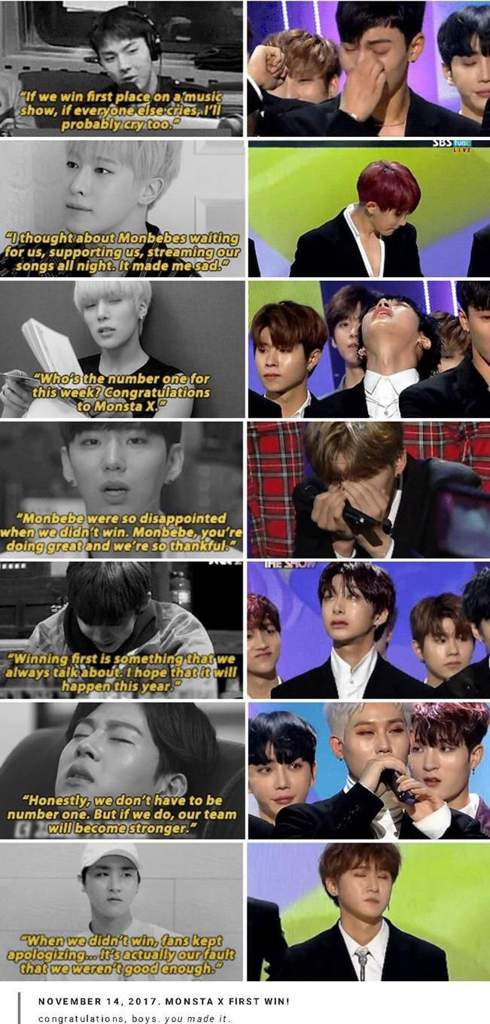 Monsta X Reaction To You Crying