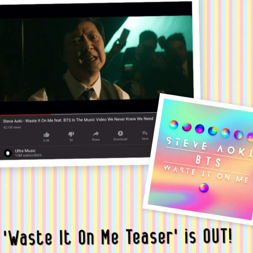 WASTE IT ON ME MV TEASER IS OUT! | ARMY's Amino