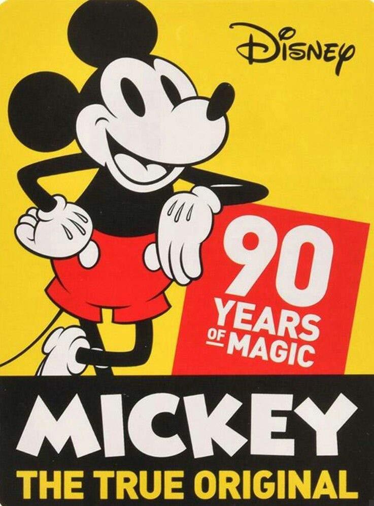 Happy 90th Birthday Mickey