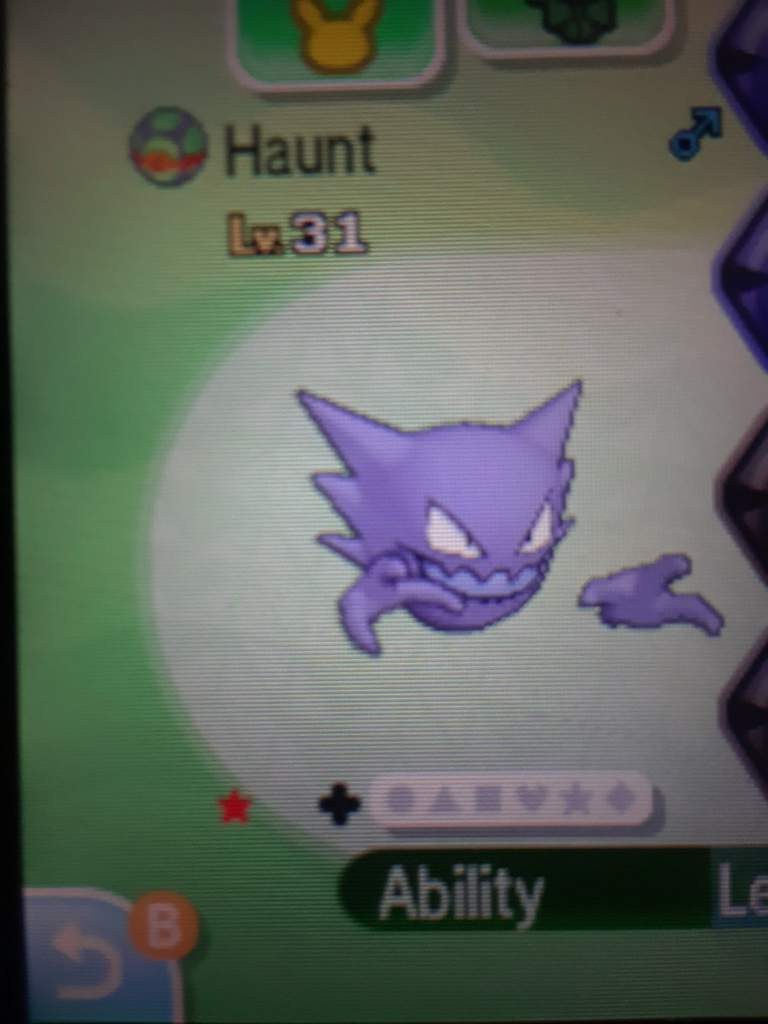 I Just Got A Shiny Haunter Pokémon Amino