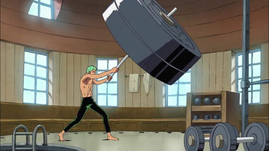 One Piece Zoro Workout
