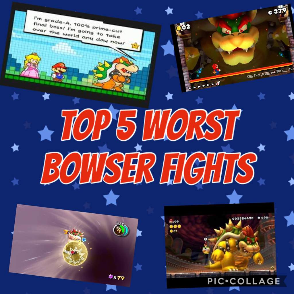Top 5 Worst Bowser Fights - Redux | Mario Amino